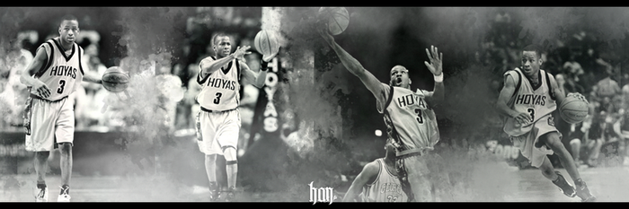 Allen Iverson College Years by maydin08