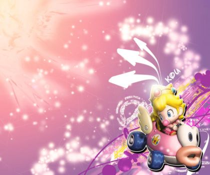 Baby Peach by izoKaMx