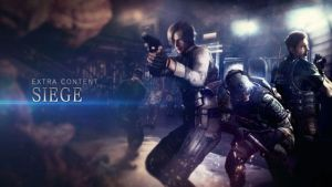 RE6 Siege title screenp by ChrisNext
