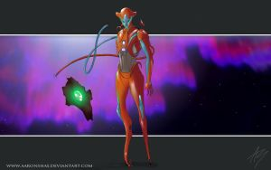 Realistic Deoxys redo by AaronShae