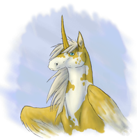 Unicorn of a different color by CliffeArts