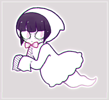 almost ghostly! by spacettes