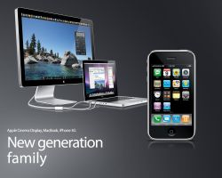 New Family - Apple - Wallpaper by mr-iphone