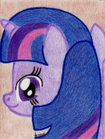191 - Twilight Sparkle by Gnazzag