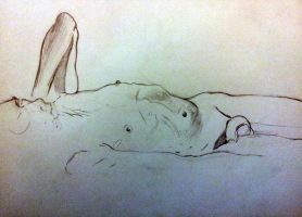 Figure Drawing 5-7-2012 by ZeroLiver
