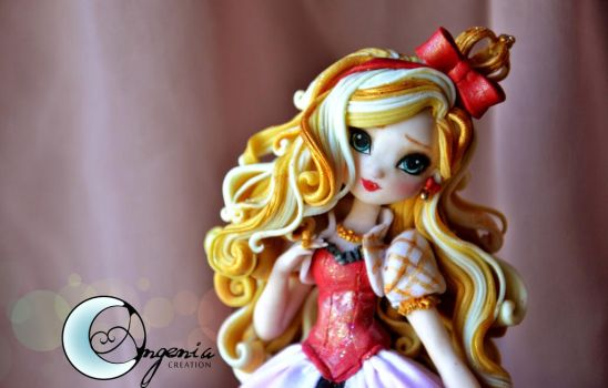 Apple White figure by me by AngeniaC