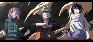 Naruto 632 | Team 7's Return's by Akira-12