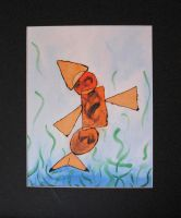 Cubist Fish by SquirrelOfChaos