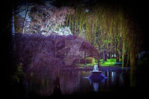 Beacon Hill Park by BlackDragonPainter