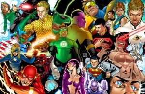 Geoff Johns Tribute by HectorBarrientos