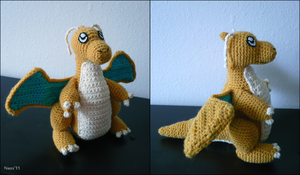 Dragonite Doll by naox