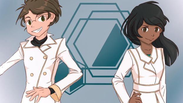 The Doctors! (Rosalene and Watts) by HitTheReplayButton