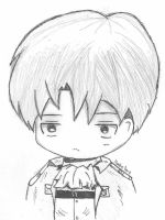 Chibi Levi Doodle! by HoodieDerp
