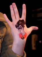 100DAYS25- FREAKAZOID hand by Kevin11s-girl