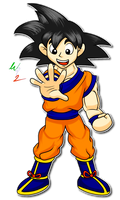 Goku in my Style by Waver92