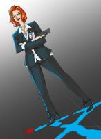 COMISH Agent Scully by jasinmartin