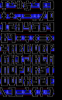 TheDraw Ansi Font 'Yazoo' by roy-sac