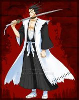 +Bleach+ Kenpachi Zaraki by Wamp-crasH