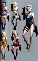 Sherry RE6 Extra Costumes 2 by Sparrow-Leon