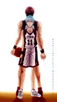 Kuroko no Basket by 6night-walking9