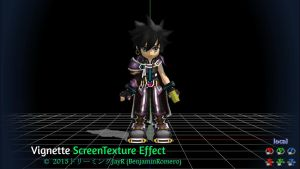[MMD DL] ScreenTexture Effect v1.02 (Vignette) by BenjaminRomero