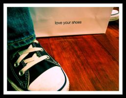 Love Your Shoes by junkboxluv