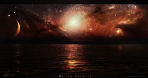 Orilla Cosmica by GuilleBot