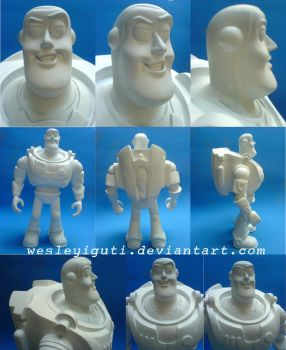 BUZZ LIGHTYEAR before the ink by wesleyiguti