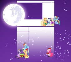 Xmas MLP Youtube background by Liamb135