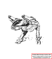 Toad Medium Mech by Excalibur-T005