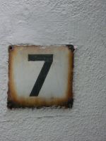 Lucky number seven by IdunaHaya-Stock