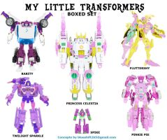 Botcon: My Little TFs 1 by Blueshift2k5