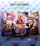 Event Flyer Bundle by hueyangdesigns