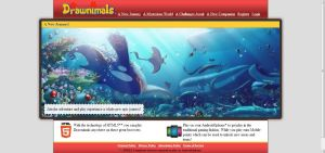 Drawnimals Website. Update 12/12 .05 by Rolyataylor2