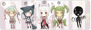 Mini Tiny Things Adopts five {1/5 OPEN} by Bitschi