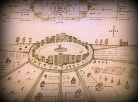 masterplan for the cosmic city, santocity 0 by santosam81