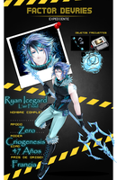 FD - Ryan Icegard - Zero - Criogenesis by Blue-Crocodile