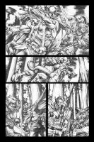 Rage Of Thor page 3 grayscale by MicoSuayan
