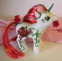 MLP Custom 'Bloom' Unicorn by colorscapesart