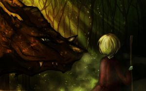 The dragon forest by Kohane-hime