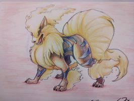 Arcanine by TheKiwiSlayer