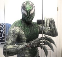 SYMBIOTE LASHER COSTUME WIP by symbiote-x