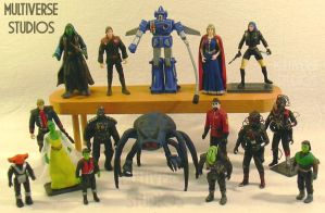 Multiverse Custom Figures by Weirdonian