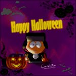 Happy Halloween 2014 by fannychichou