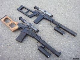 VSS_VSK-94 sniper rifles by Garr1971