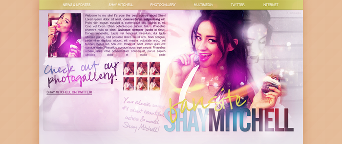 Shay Mitchell Header by sort-of-invisible