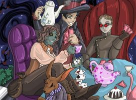 OUAT - Tea Party _R-4_ by DarkMirime