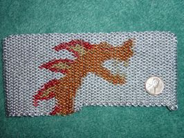 Chain Maille Dragon by SnerbleMaster