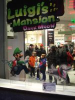 Luigi's Mansion Dark Moon at Nintendo World 47 by MarioSimpson1