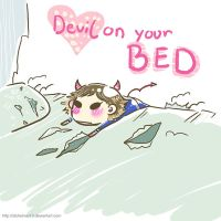 RUKI - Devil on your bed by Alzheimer13